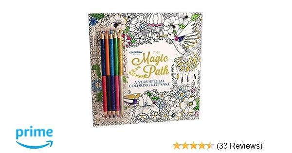 Amazon Colorama Magic Path Coloring Book Create Beautiful Pencil Art 9780990963585 Books