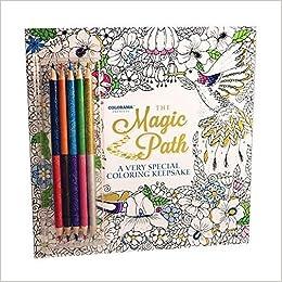 Amazon Com Colorama Magic Path Coloring Book Create Beautiful