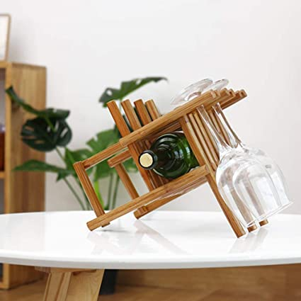XQY Estante para vinos, Estante para vinos Decorativo, Estante para restaurantes, Estante para