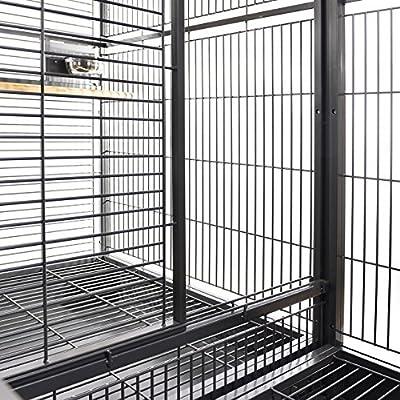 Montana jaulas Nova II doble Parrot jaula envejecido: Amazon.es: Hogar