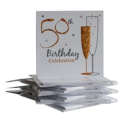 50th Birthday Invitations: Amazon.co.uk