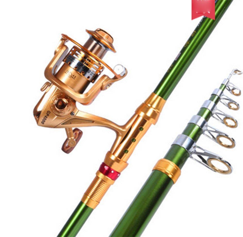 フル90グリーン海釣りロッドセット、メタル釣りリール海カーボンファイバー釣りTackle 2.1m 2.1m A B07F6DH199 A B07F6DH199, ZERO:4159e897 --- ferraridentalclinic.com.lb