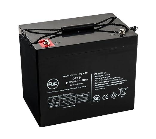 Batería de Sillas de ruedas de 12V 75Ah Sigmas SP12-75 ...