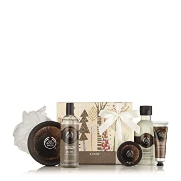 58d68baeac8 Amazon.com  The Body Shop Coconut Essential Collections Bath   Body ...