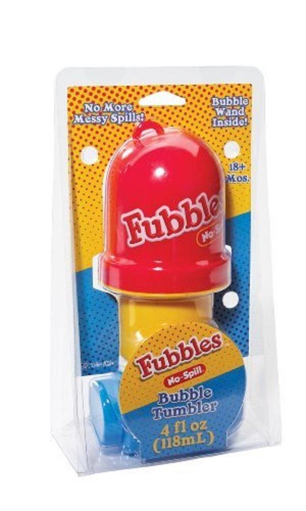 Little Kids Fubbles No-Spill Bubble Tumbler Assorted Colors