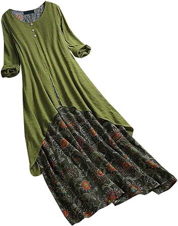 Reooly Moda Verano Mujer Color sólido Sin Mangas Llanura Plisado Elegante Casual Chaleco Falda Plisada Mini Vestido
