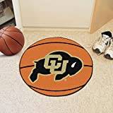 Fan Mats 4089 CU - University of Colorado Buffaloes 27'' Diameter Basketball Shaped Area Rug