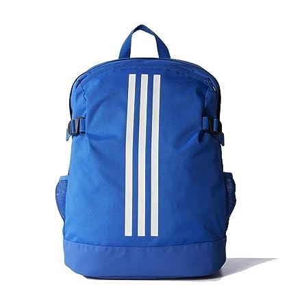 08b103ab0789 adidas 3-Stripes Power Backpack (Medium Blue White White)  Amazon.in  Sports