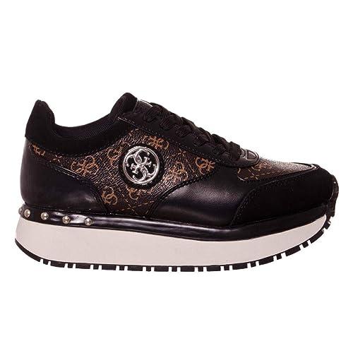 Guess Mujer Zapatillas de Gimnasia Size: 36 EU: Amazon.es: Zapatos y complementos