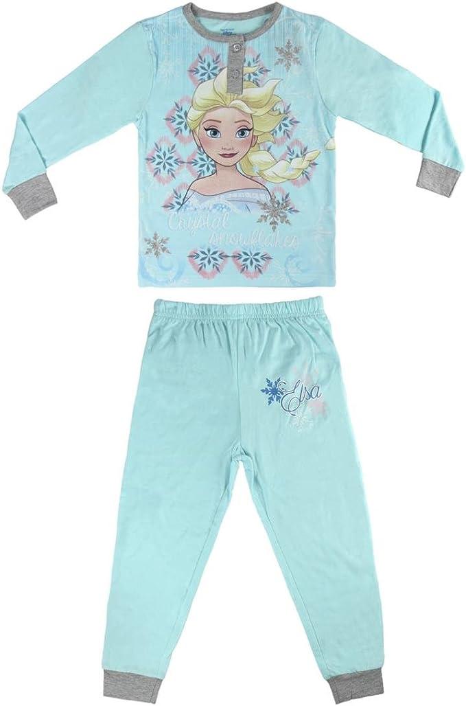 Disney Frozen Pijama Manga Larga Ni/ña Ni/ñas