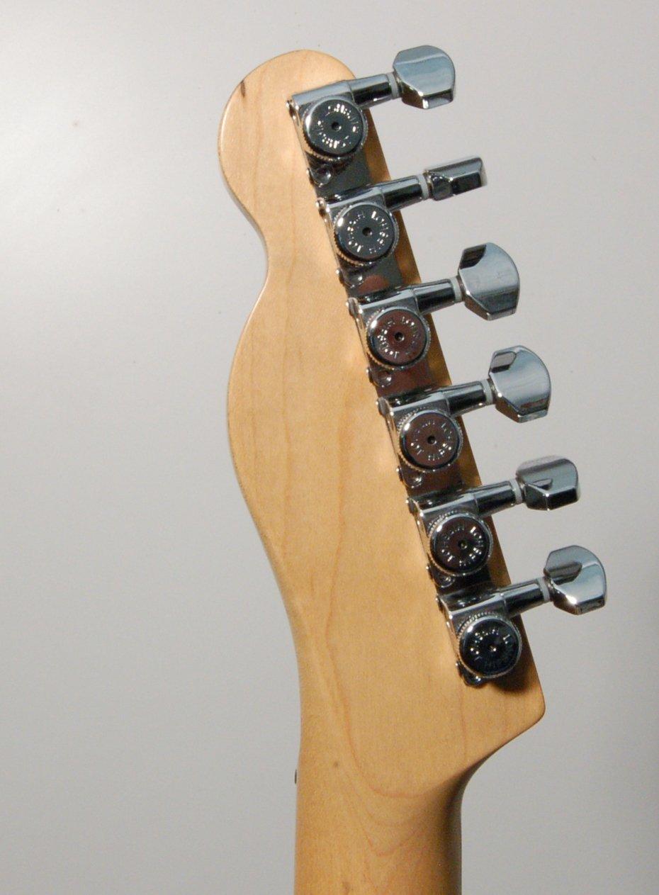 Hipshot grip-lock Vintage 6 Inline escalonada Closed 8,5 mm clavijas con Universal placa de montaje, cromo: Amazon.es: Instrumentos musicales