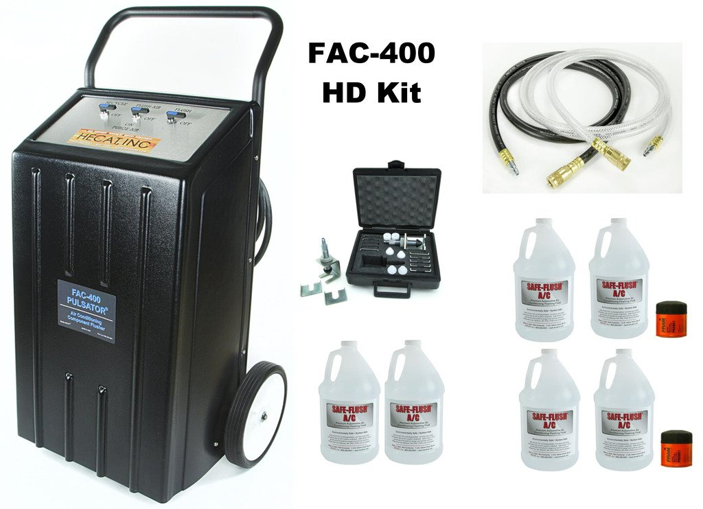 HECAT FAC-400HD PULSATOR (118726BHD) - Recycling A/C System Component Flusher - Heavy Duty Kit