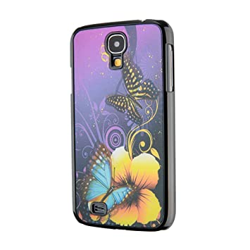 Carcasa para Samsung Galaxy S4 i9506, diseño de mariposas ...