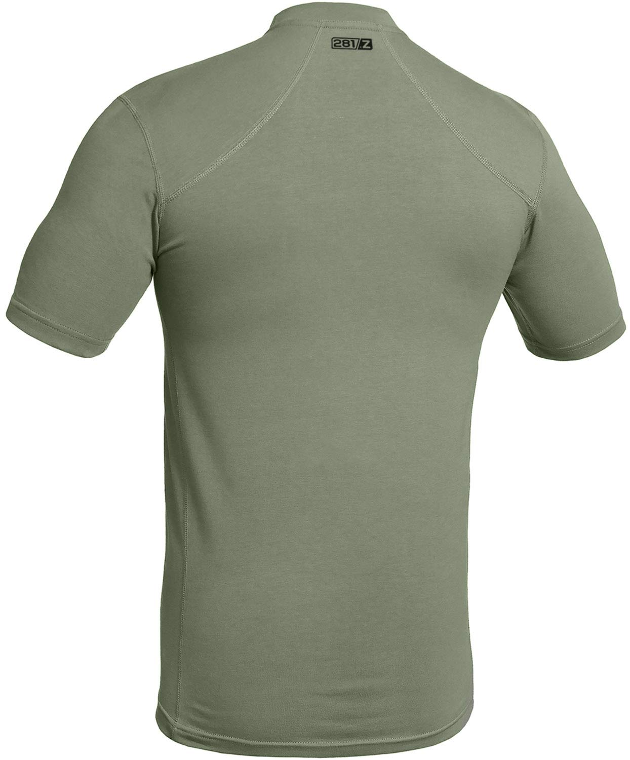 281Z Military Stretch Cotton Underwear T-Shirt - Tactical Hiking Outdoor - Punisher Combat Line (Olive Drab, Large) by 281Z (Image #2)