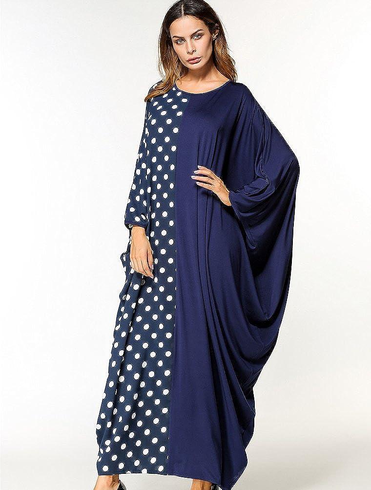 MatchLife Femme Nouvelle Robe Tunique Caftan Style Boubou Kimono Maxi 50ff46c1f534
