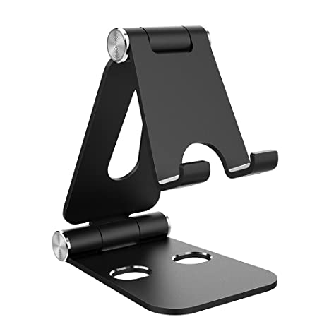 15f4c7d8838e67 Simpeak Tablet Stand, Dual Foldable Aluminum Stand Universal Phone Stand  Holder compatible Nintendo Switch,