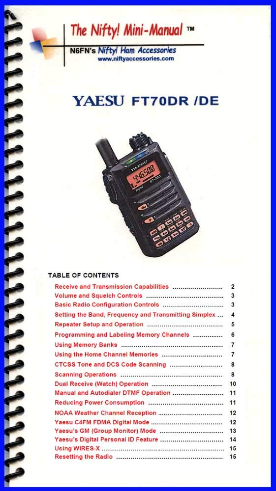 RT Systems Programming Software and USB-57B cable for the Yaesu FT-70D