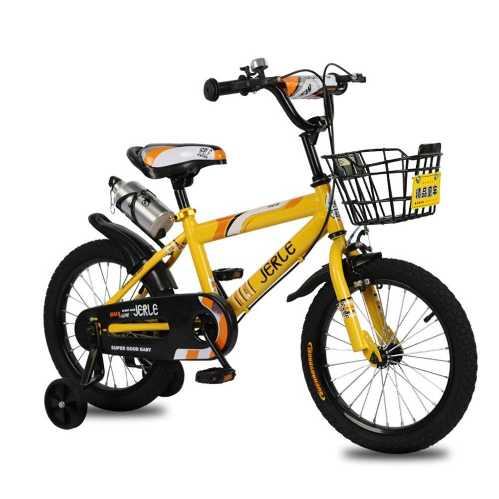 子供の自転車、赤ちゃん2-3-4-6歳の少年12-18インチのベビーカーの自転車 ( 色 : イエロー いえろ゜ , サイズ さいず : 18 inches ) B07CNK5SX2 18 inches|イエロー いえろ゜ イエロー いえろ゜ 18 inches