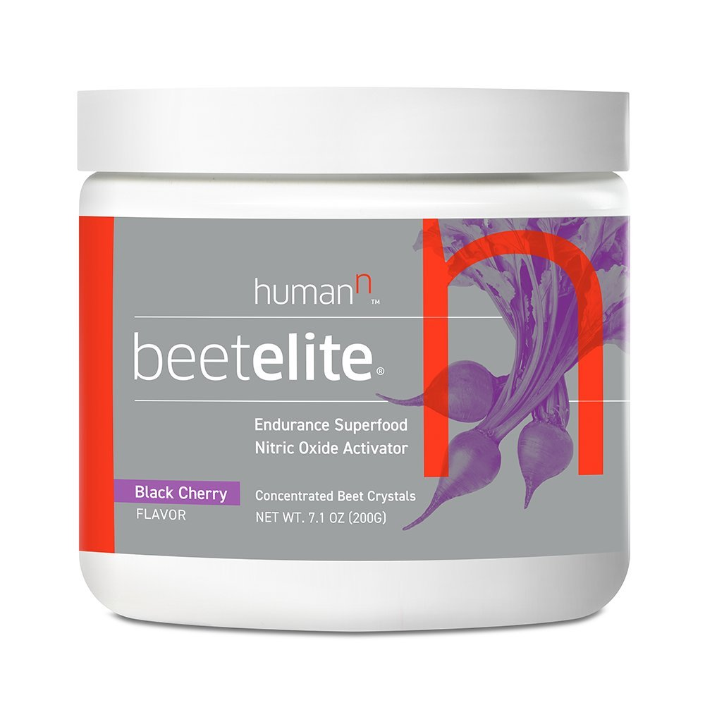 HumanN BeetElite Superfood Concentrated Beet Crystals Nitric Oxide Boosting Athletic Endurance Supplement (Black Cherry Flavor, 7.1-Ounce)
