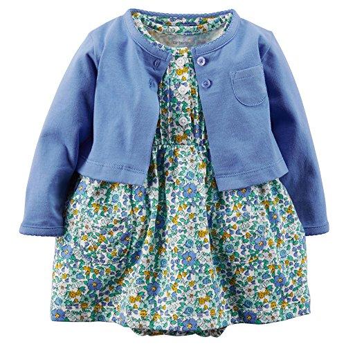 Carters Girls Polka Cardigan Dress