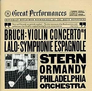 Bruch: Violin Concerto No. 1; Lalo: Symphonie Espagnole - Isaac Stern, Eugene Ormandy, Philadelphia Orchestra - CBS Great Performances