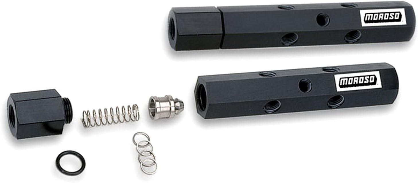Moroso Pressure Regulating Fuel Log Kit 65145