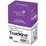"Graham Beauty Salon Truewave Regular Perm End 2.25"" x 3.25"" Paper 1000 Pcs - HC-56174"