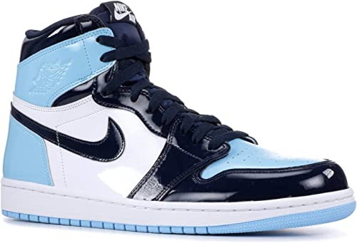Amazon.com | AIR JORDAN 1 Retro High Og 'Blue Chill' Womens ...
