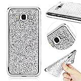 G530 Case,G530 TPU Case MOMDAD'S Ultra Slim Soft TPU Skin Case for Samsung Galaxy Grand Prime G530 Glitter Bling Case [Exact-Fit] Soft TPU Shiny Sparkle Beauty Case for G530