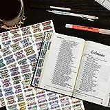 Bible Index Tabs New & Old Testament Tabs Matte
