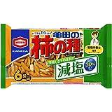 亀田製菓 減塩亀田の柿の種 6袋詰 182g×12個