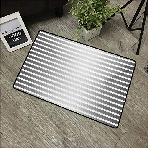 Modern,Carpet Flooring Creative Robot Paint Featured Artisan Futuristic Bands Stripes Display Print W 16