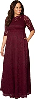 product image for Kiyonna Women's Plus Size Special Edition Leona Lace Gown