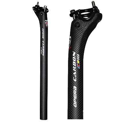 Carbon Fiber Bike cycling Seattube MTB Bike saddle Seatpost Diameter 27.2-31.6mm