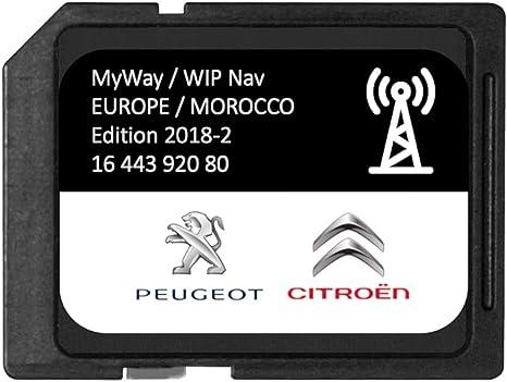 Versión 2018/2019 - Tarjeta SD GPS Europa RNEG 2018-2 Peugeot Citroen: Amazon.es: Electrónica