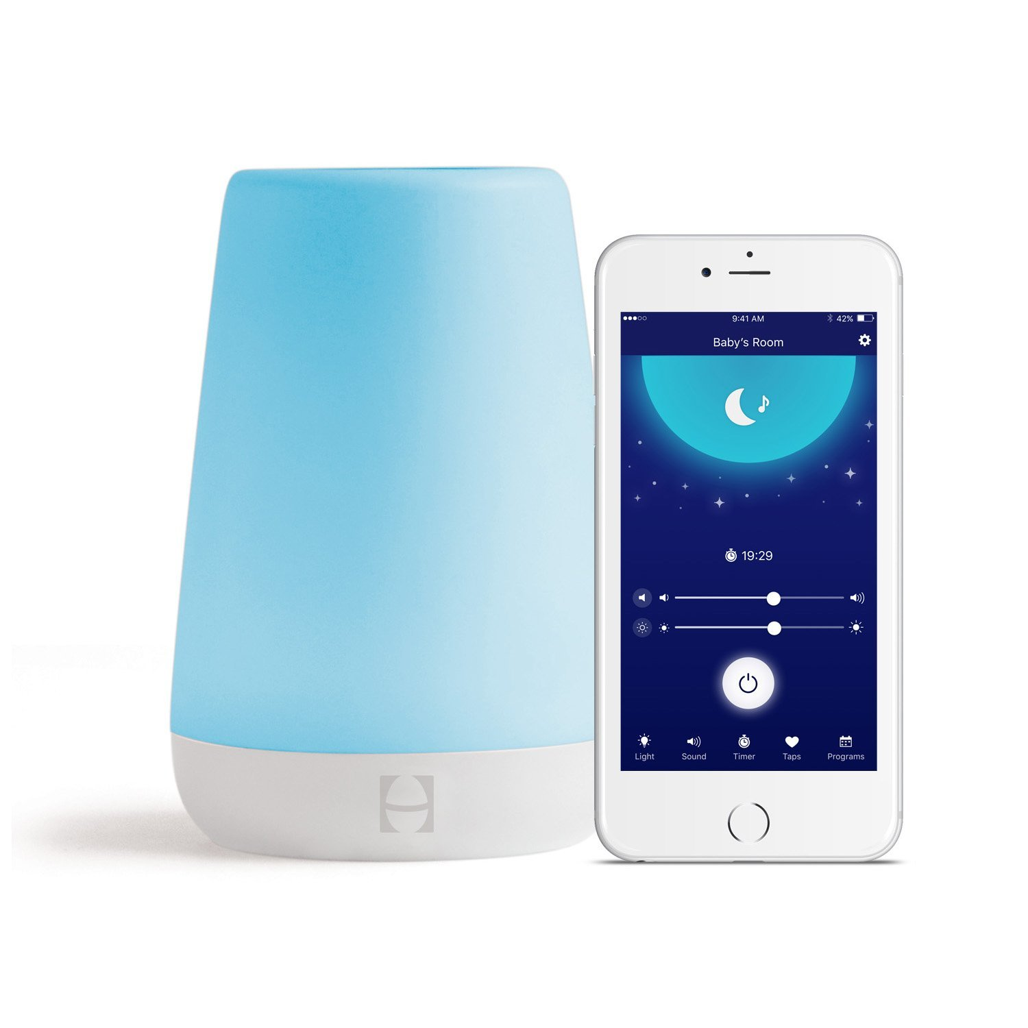 Hatch Baby Rest Sound Machine, Night Light and Time-to-Rise sleep habits for babies Sleep habits for babies – Sleep Gadgets to help your baby fall asleep 61ASu 5HgBL