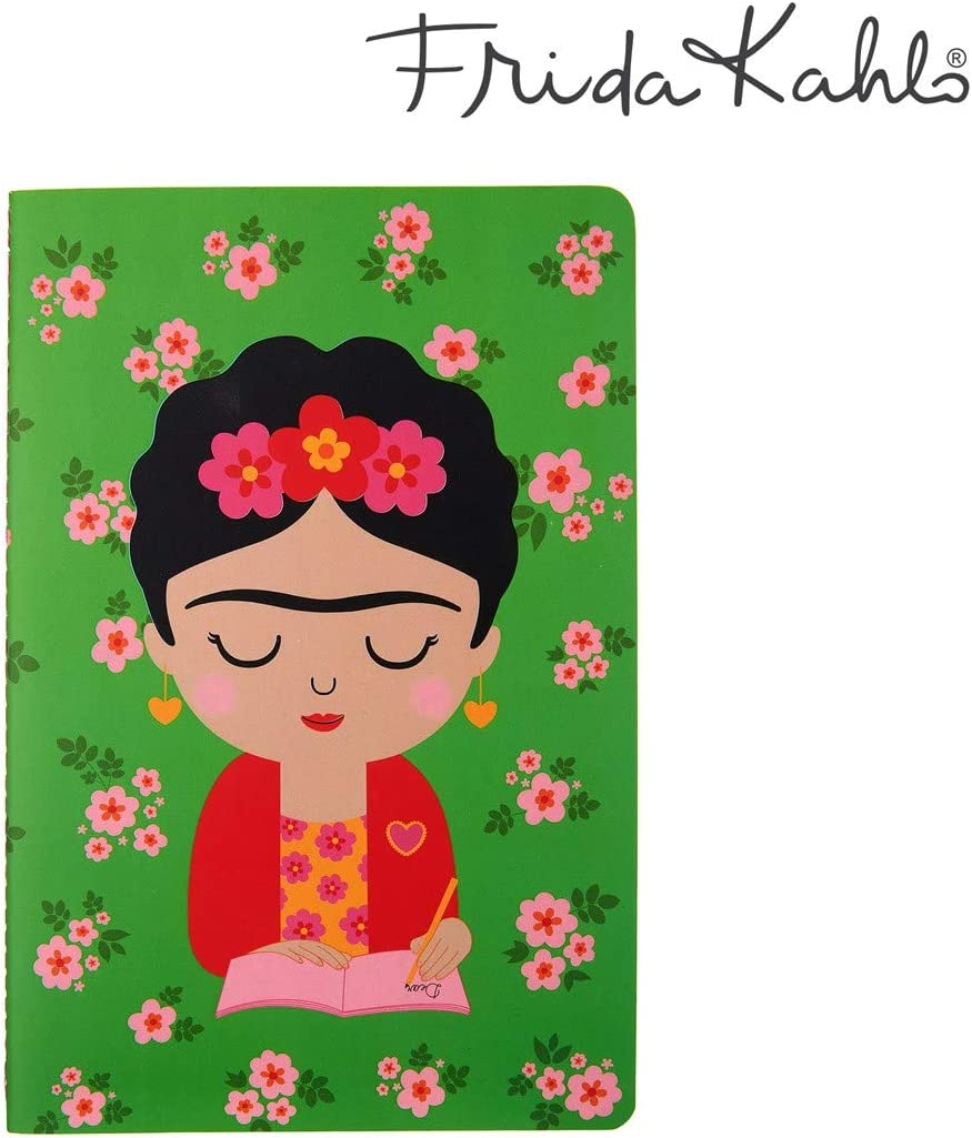 Sass & Belle Viva La Frida Kahlo - Cuaderno (A5, páginas rayadas)