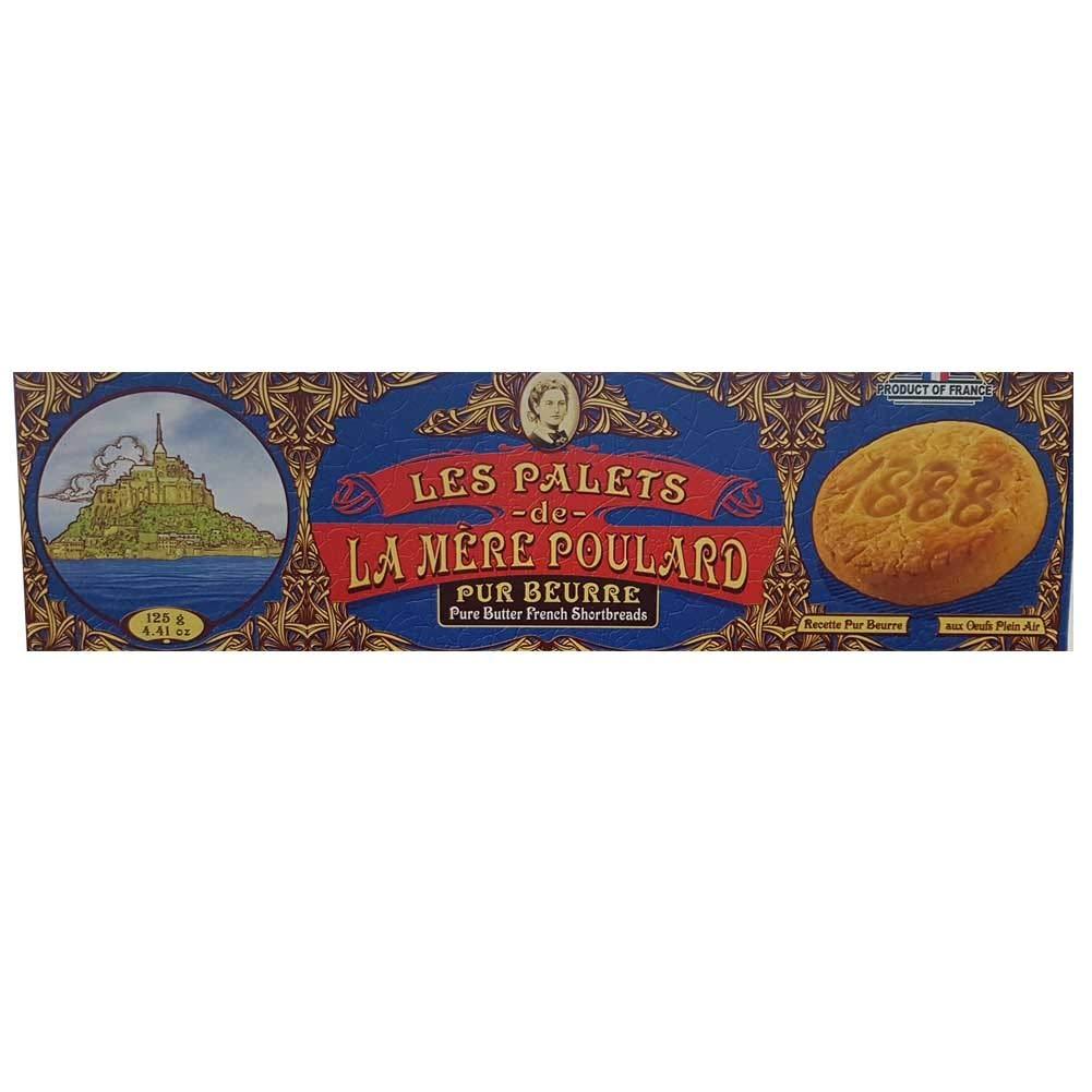 La Mere Poulard Les Palets Pur Beurre 125g French