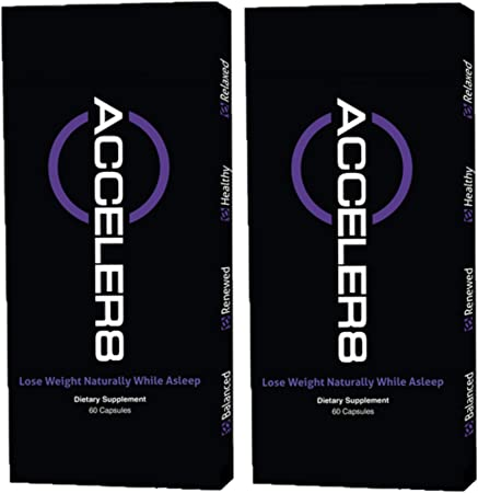 BEpic - ACCELER8 Dietary Supplement - Natural Detox and Sleep Duo-Pack (2 Boxes (60 Day Supply))