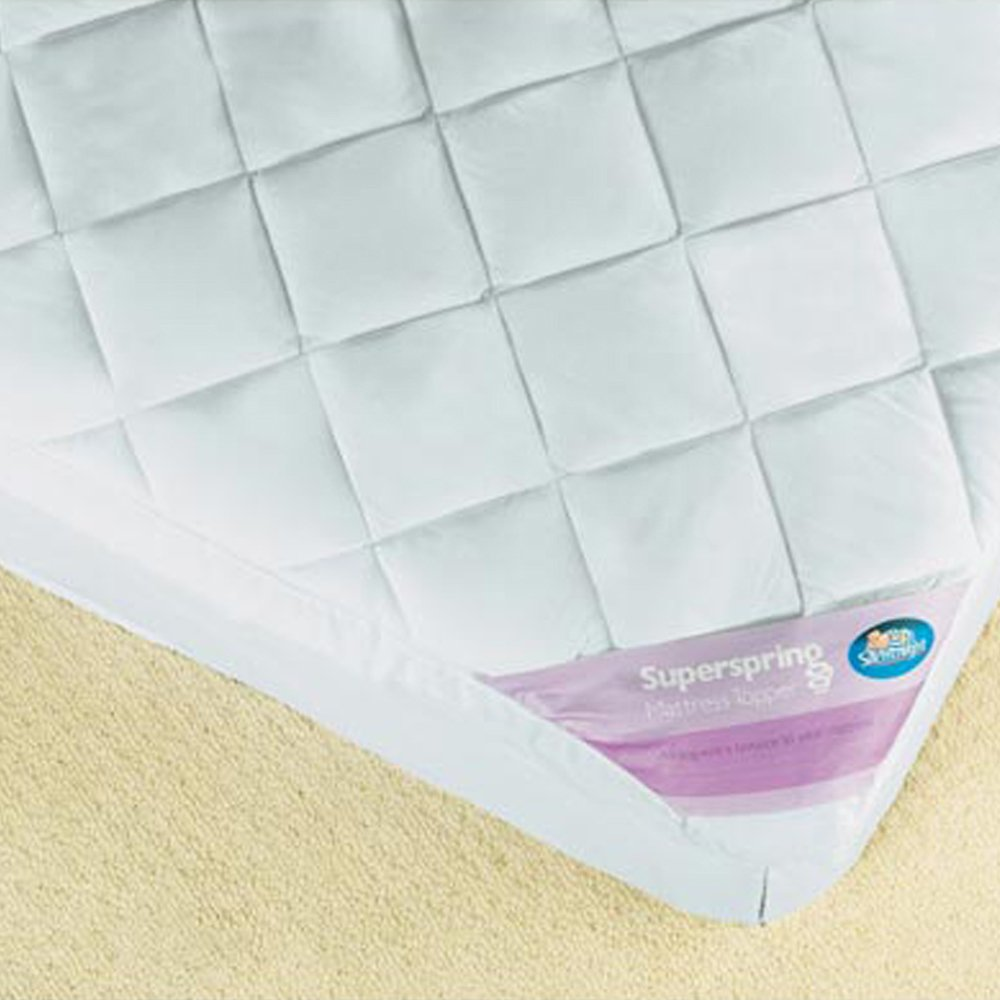 silentnight superspring mattress topper king amazoncouk kitchen u0026 home