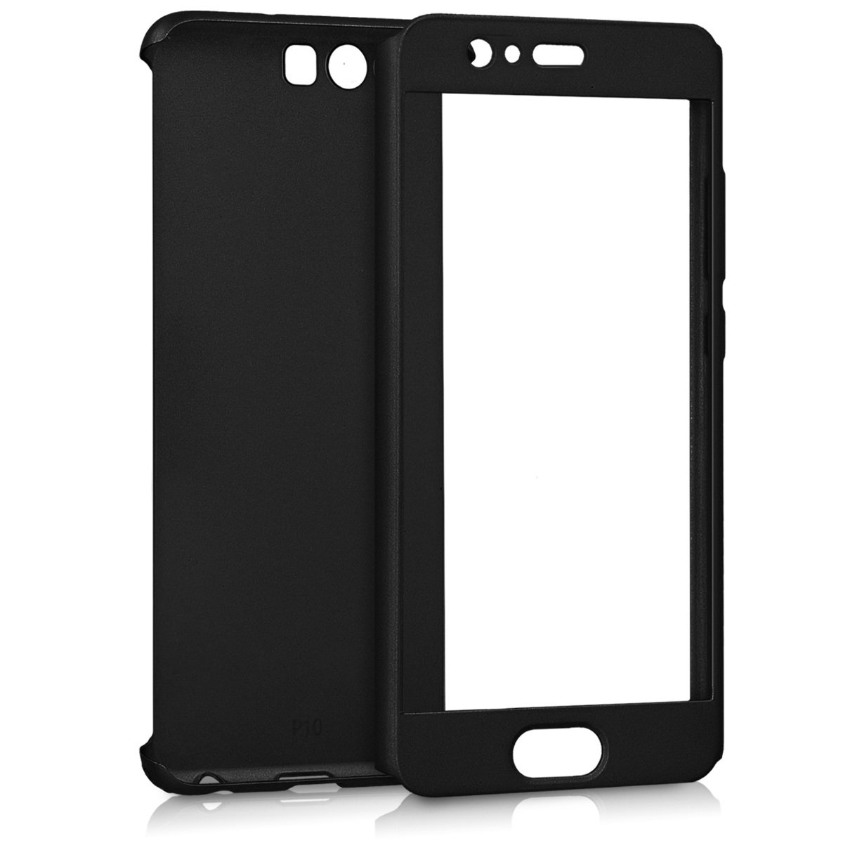 pretty nice 2d207 befbc Amazon.com: kwmobile Cover for Huawei P10 - Shockproof Protective ...