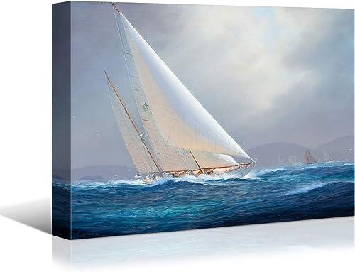 Looife Ocean Theme Canvas Wall Art