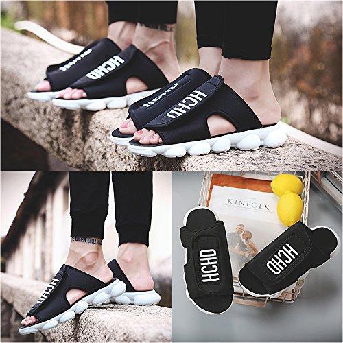 De Mujeres Nuevas Zapatos Los Zapatos De Luz De 2018 Amantes Zapatillas Velcro Viaje 37 De De Los De Planos Verano Verano White Las Zapatos Zapatillas De De Sandalias XAqwqEvx