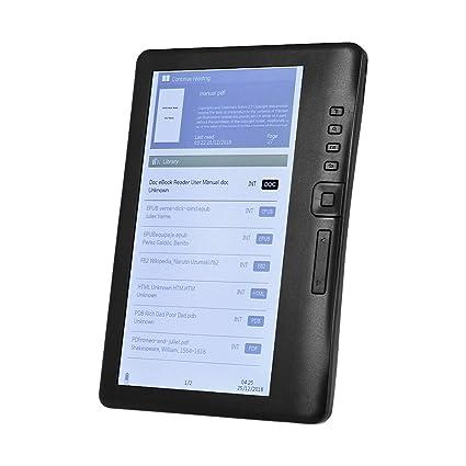 Aibecy BK7019 Lector de libros electrónicos portátil de 7 pulgadas ...