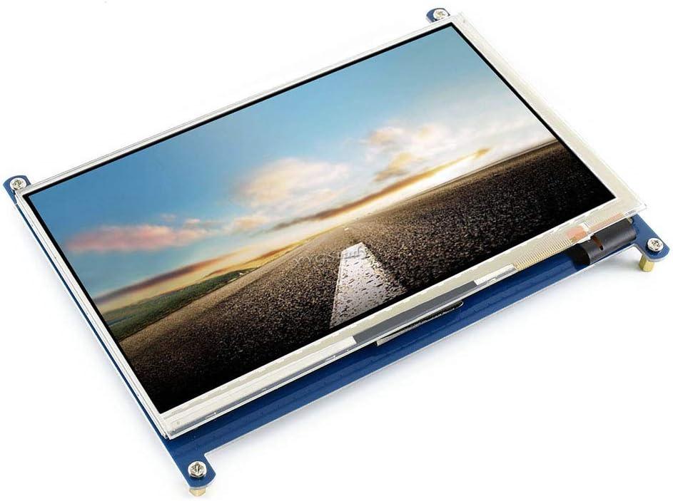 HDMI Interface Compatible with New Raspberry Pi 1 2 3 Model B B+ A+ // BeagleBone Black//Banana Pi Pro C 7 1024600 Capacitive Touch Screen Custom Raspbian XYGStudy 7 inch LCD