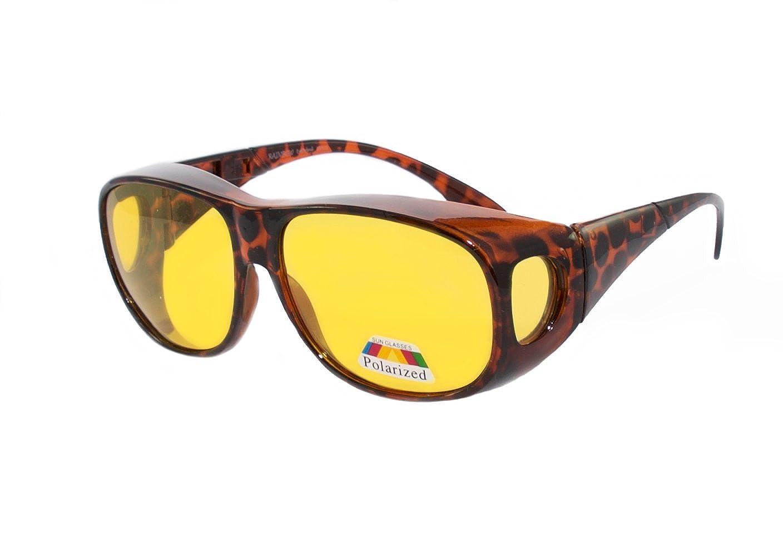 rainbow safety Sobre Gafas de Sol Polarizadas Para Conducir Día y Noche Pesca Gafas Superpuestas RWN10: Amazon.es: Ropa y accesorios