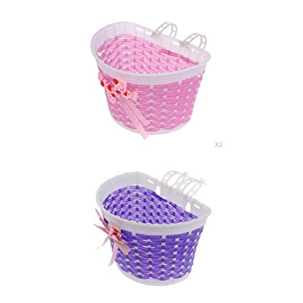 Bike Bicycle Cycle Front Basket Shopping Stabilizers For Children Kids Girls