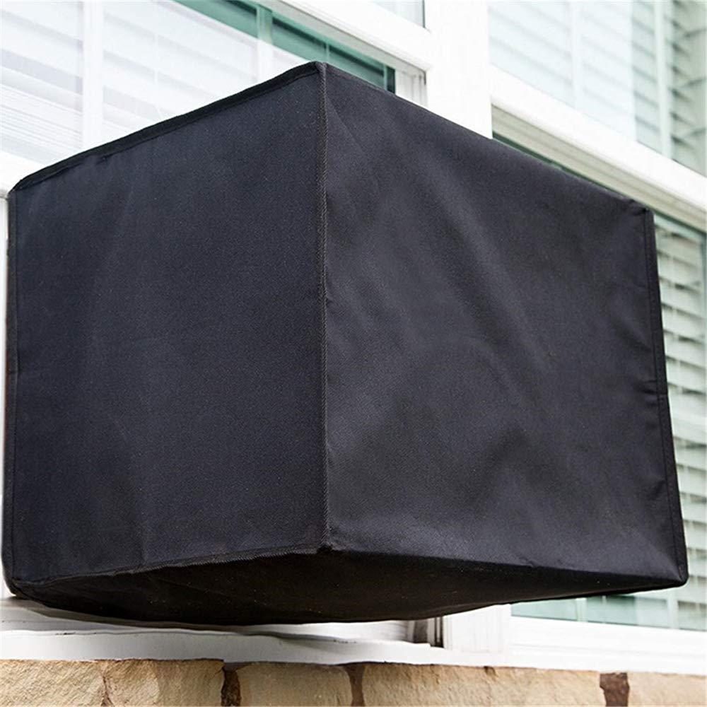 KEISL Funda para Aire Acondicionado,Cubierta del acondicionador de Aire,Aire Acondicionado Exterior Cubierta Protectora Cubierta de Polvo Cubierta de Nieve S