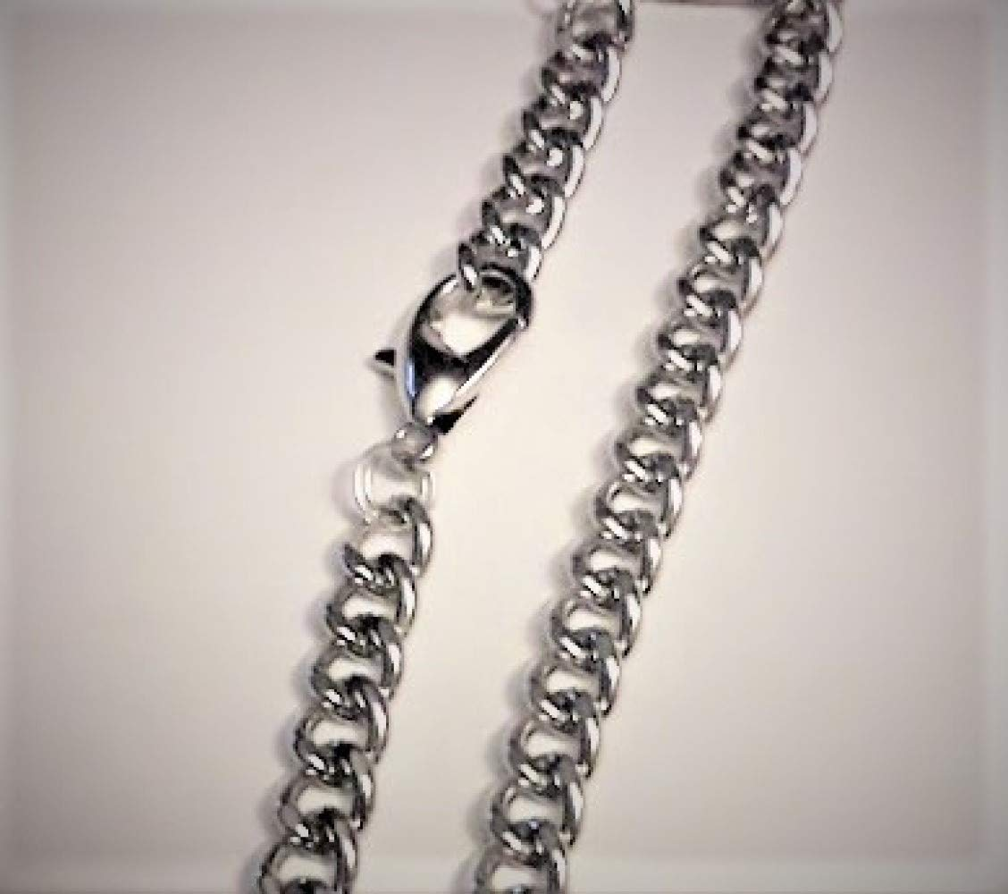 Harry Potter Inspired Chunky Curb Chain Deathly Hallows Pendant Ideal for Fans