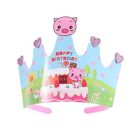 BESTOYARD 2pcs niño Corona Capa ~ cumpleaños celebración ...